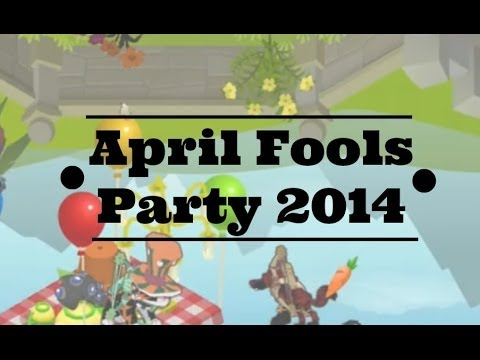 Animal Jam: April Fools Party 2014