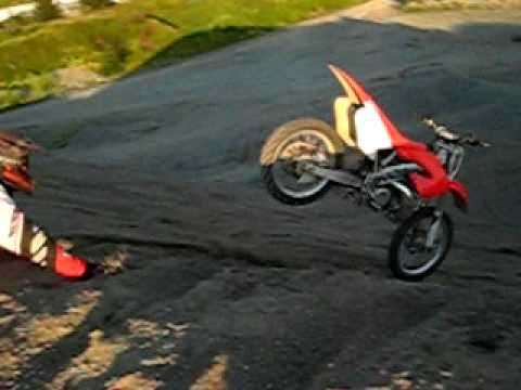 honda cr 250 Video