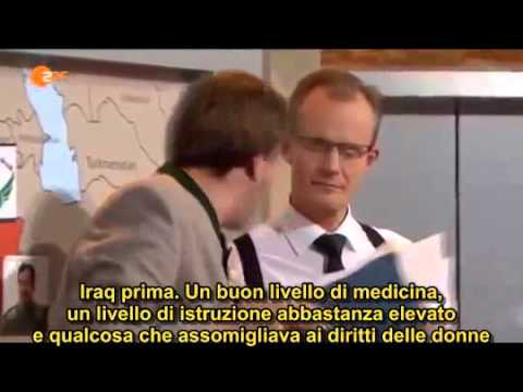 Немецкий юмор о Сирии и беженцах