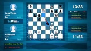 Download Lagu Chess Game Analysis: Alchimiste - Yusuf Yağcı : 1-0 (By ChessFriends.com) Gratis STAFABAND