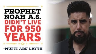 Video: In Quran 29:14, Noah may not have lived for 950 years - Abu Layth