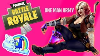 ONE MAN ARMY! - Fortnite Squad Victory (Gamplay)