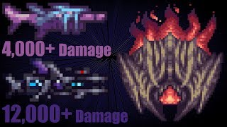 terraria crazy buffed up Sea Dragon and Mega Fleet vs Supreme Calamitas