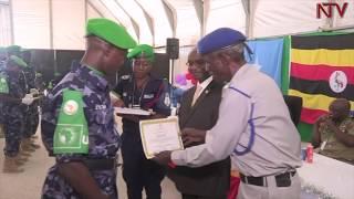 Poliisi ya Uganda esiimiddwa e Somalia