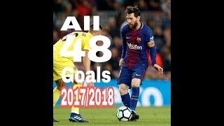 Lionel Messi | Vua phá lưới Laliga - 48 bàn thắng cho Barca mùa 2017/2018