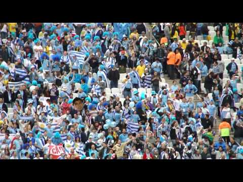 Uruguay supporters hinchas - URU vs ENG - World Cup 2014