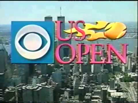 全米オープン テニス CBS intro music early 90's intro music early 90's