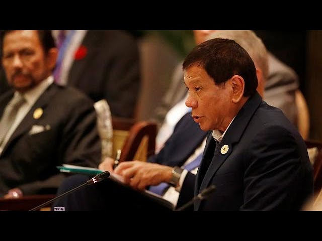 Duterte claims he killed as a teenager