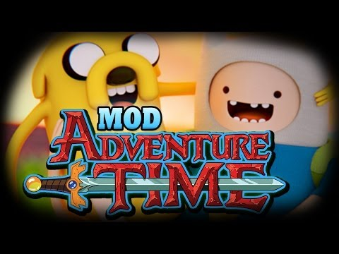Minecraft Mod ADVENTURE TIME MOD WE MEET FINN AND JAKE Mod Showcase