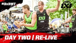 RE-LIVE - FIBA 3x3 World Tour 2018 - - Lausanne Masters 2018 | Day Two - presented by VTX