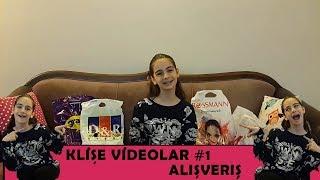 Klişe Videolar #1 Alışveriş!!! D&R...