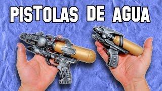 ✔ Cómo Hacer Pistolas De Agua Tunning | How to Make Water guns Tunning
