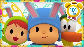 🐰 POCOYO in ENGLISH - Easter Bunny [ 101 minutes ] | Full Episodes | VIDEOS and CARTOONS for KIDS