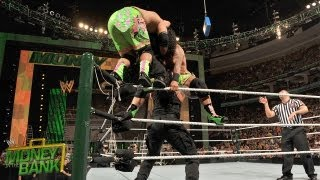The Shield vs. The Usos - WWE Tag Team Championship Match: Money in the Bank Pre Show