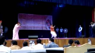 Dhaka college student Dance Performance 11 march 2017