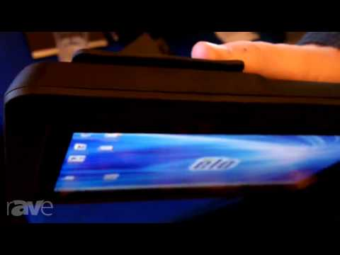 E4 AV Tour: Elo Touch Demos Interactive Displays, Point of Sale Tablets, Alice Virtual Receptionist