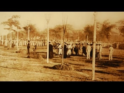 Lost video tape of Jose Rizal Execution