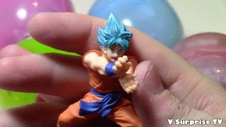 Dragon  ball Z surperAction figure from Gashapon Complete Collection | japanese eggs surprise Bandai