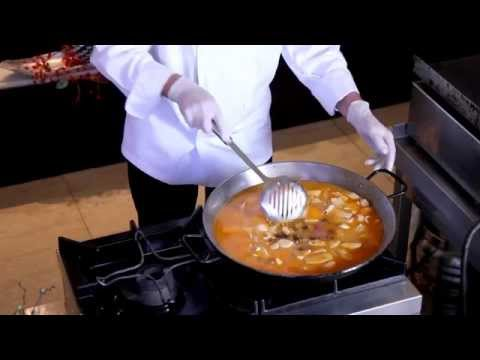 "Video Recetas Galant. ""PAELLA DE MARISCO"""