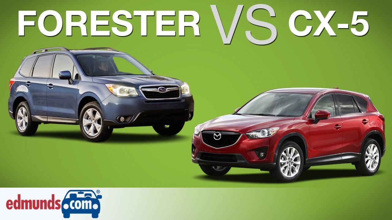 New Subaru Forester Vs Mazda CX5  Which Crossover SUV Is Better