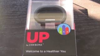 Jawbone UP Band Unboxing And Overview