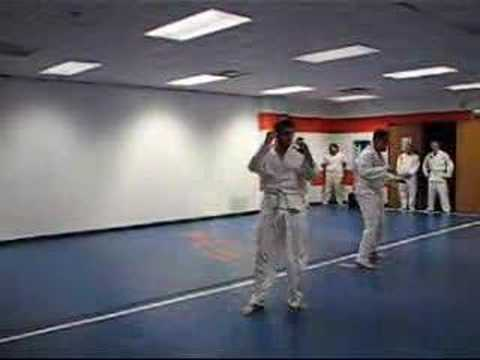Hapkido Belt Test- White to Yellow--John and Drew Image 1