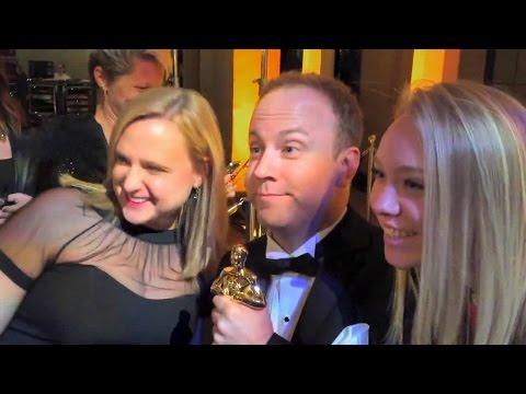 Fake Oscar Prank: Man Pretends To Be Movie Star