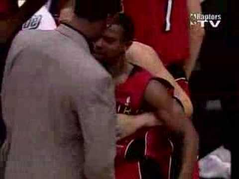 TJ Ford Buzzer Beater! Clippers vs Raptors 20/12/06 Video