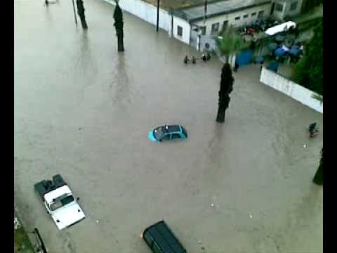 فيضانات طنجة أكتوبر 2008