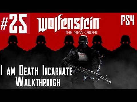 Wolfenstein: The New Order – Hard Walkthrough – Part 25 – Chapter 12 – Gibraltar Bridge 1/2