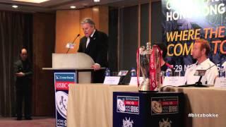 Brett Gosper at HK Sevens Press-conference