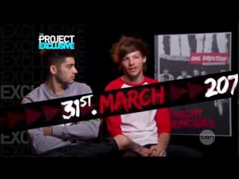One Direction interview in Australia