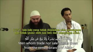 Surat an-Nuur Ayat 36 38 - Yusuf ad Daghusiy (Youssef Edghouch)