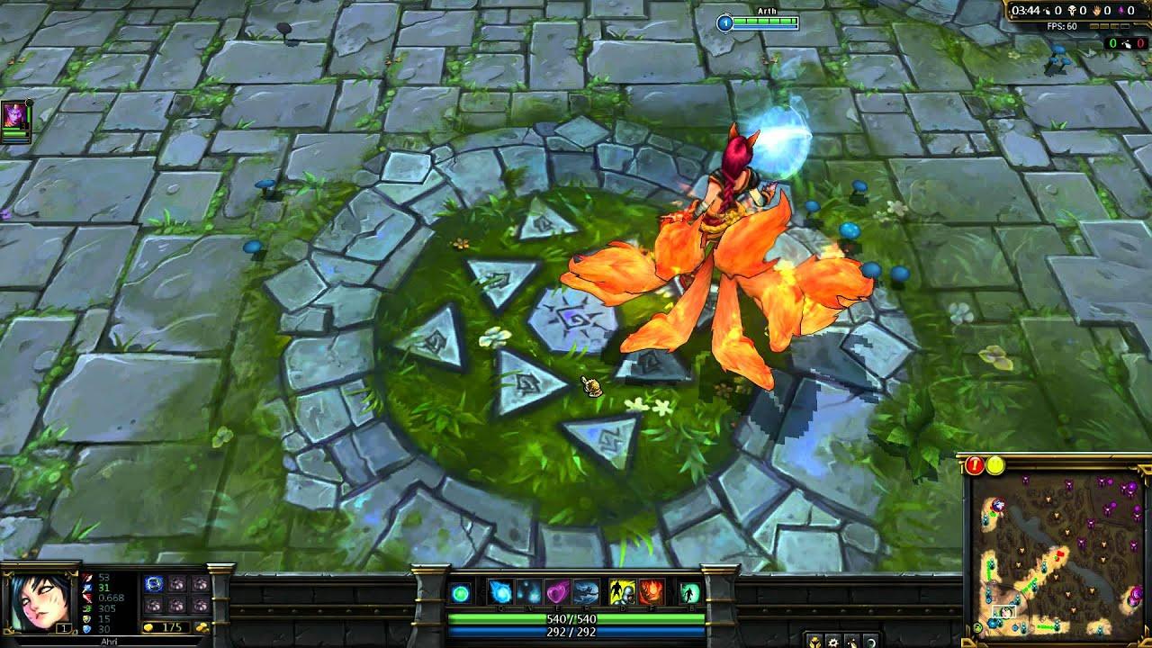 1080p Ahri Firefox Ahri Skin 1080p