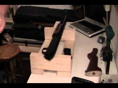 Mossberg 500 Pistol grip and barrel shortening for home defense