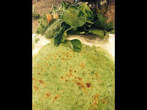 Somali Food With A Modern Twist | Spinach Crepes/Malawax | Cooking With Hafza