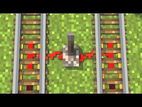 Лучшая ловушка на рельсах в Minecraft [Minecraft механизмы]