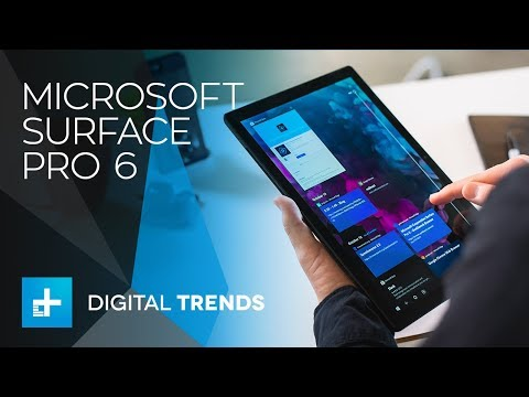 Microsoft Surface Pro 6 - Hands On Review