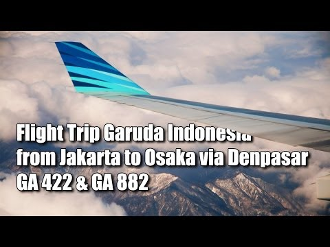 Flight Trip to Osaka via Denpasar   Garuda Indonesia