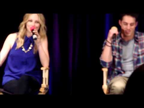 Candice Accola & Michael Trevino - TVD Chicago 2013 - Something not many people know about you