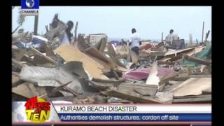 Lagos commence demolition of structures on Kuramo beach