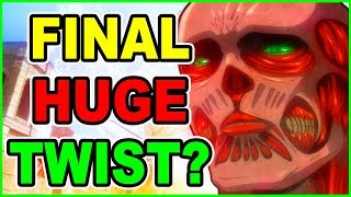 WILL THE COLOSSAL TITAN END EVERYTHING? Attack on Titan Theory