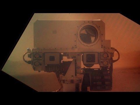 Curiosity Rover Updates Self Shot Facebook Profile Picture?