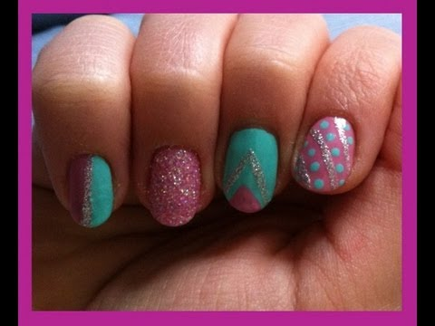 Nail art printemps