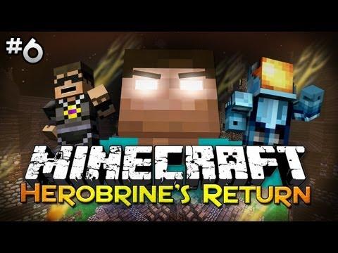 Minecraft: Herobrine's Return w/ SkyDoesMinecraft - Finale