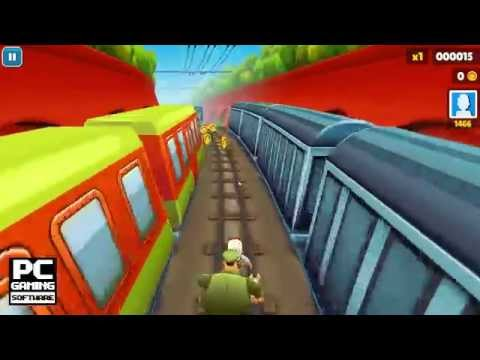 Subway Surfers 2012 Gameplay (PC HD)