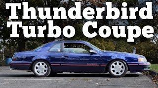 Regular Car Reviews: 1988 Ford Thunderbird Turbo Coupe