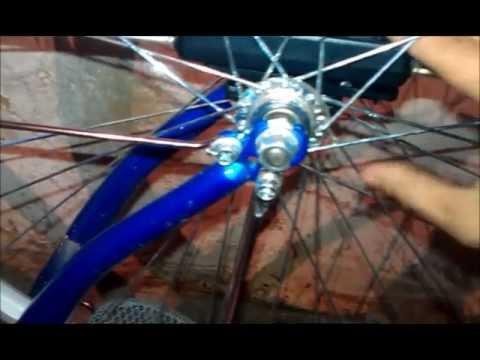 Как сделать светодиодный велосипед своими руками