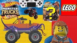 HOT WHEELS MONSTER JAM MONSTER TRUCKS VIDEO GAME LEGO STORY
