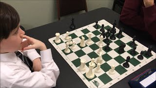 7 Year Old Sets Up Nasty Queen Trap! Will His Opponent See It??? Golan vs. Michael
